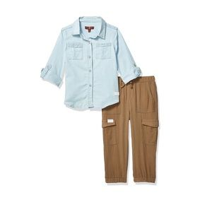 7 For All Mankind 2 Piece Set. Toddler Girl